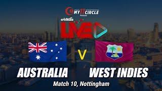 Cricbuzz LIVE: Match 10, Australia v West Indies, Pre-match show