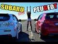 #HORIZONTFULL - PEUGEOT 308 GT vs SUBARU IMPREZA WRX STI ?