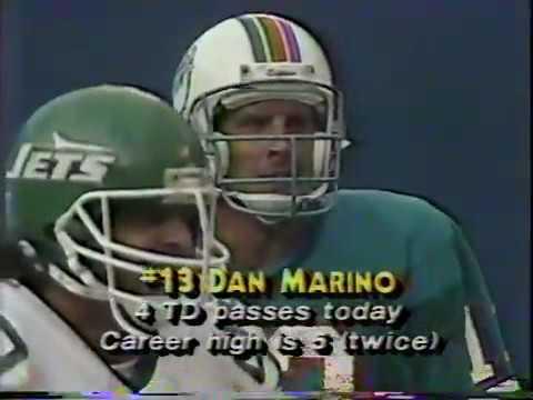 Week 3 Dolphins vs Jets  September 21, 1986 Second Half