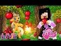 LIVE - ROUBEI AS MAÇÃS DA APPLEJACK #02 - MyLittleGirls - Minecraft