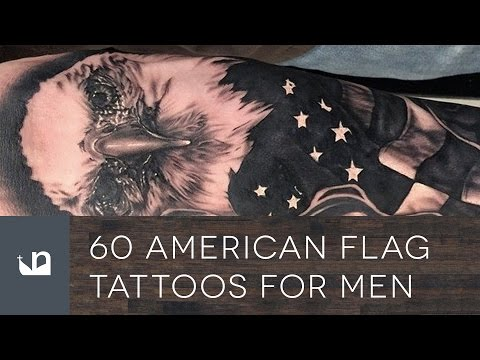 60 American Flag Tattoos For Men