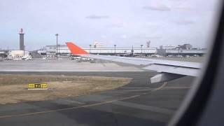 アエロフロート 日本語機内アナウンス Aeroflot Speaking(03.Jan.2011)