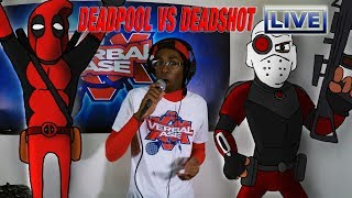 Deadpool Vs Deadshot En Vivo - De Dibujos Animados De Las Batallas De Beatbox