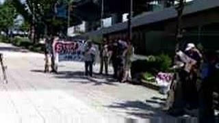 140819 近畿中部防衛局に対する辺野古新基地建設撤回を求める申し入れ@大阪
