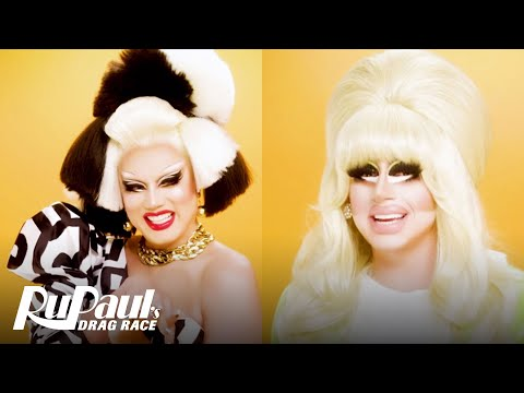 The Pit Stop AS6 E02   Trixie Mattel & Manila Luzon Rate 'The Blue Ball!'   RPDR All Stars