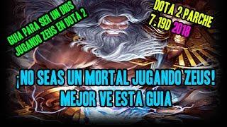 Guia para jugar ZEUS como lo juegan los IMMORTALS - GUIA DOTA 2 EN ESPAÑOL