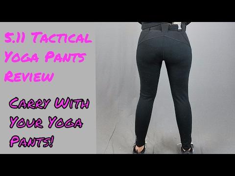 b7eb0956e2d9c Kim's Corner Ep. 9: 5.11 Tactical Yoga Pants | Geauga Firearms Academy -  YouTube