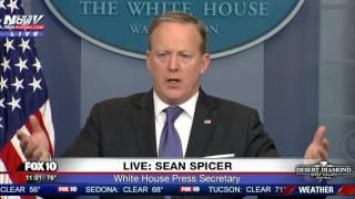 WATCH: Sean Spicer Says President Trump's Tweets Speak For Themselves (FNN)