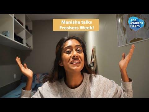Manisha shares her Fresher's Week experience