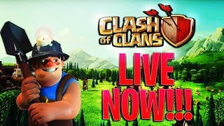 Grinding Clash Games! Almost 4k Points! Clan War Replays! TownHall 10 Farming + Music Stream!