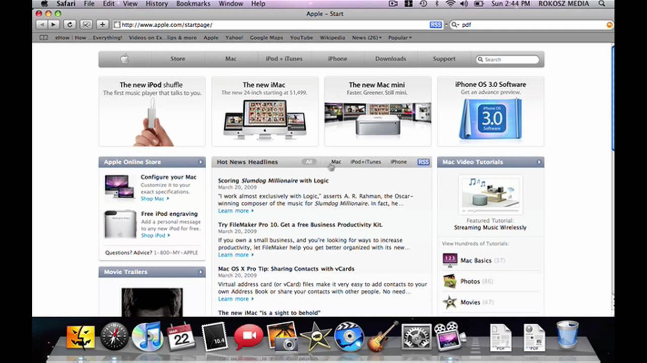 Using Apple Computers How To Create PDF Files On A Mac YouTube - Create invoices for free apple store online shopping