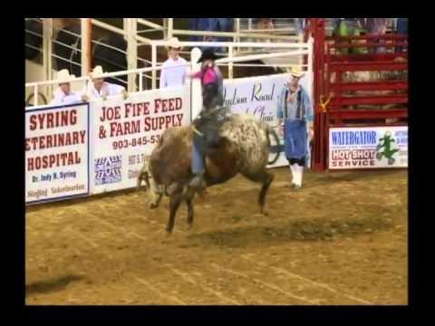 Gladewater Rodeo 2014 Wednesday Extreme Bulls Part 2