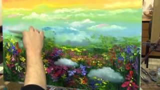 Игорь Сахаров, научиться писать маслом, научиться рисовать цветы