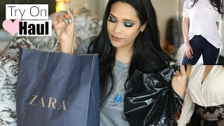 Fashion Haul Try On! BaubleBar, Zara, Forever 21 bebe - MissLizHeart(For BaubleBar use code 'lizheart' at checkout for 25% off here http://goo.gl/xnrVap. Offer is valid on full-priced items and for new customers only. Expires 3/16 ..., 2016-02-18T01:32:12.000Z)