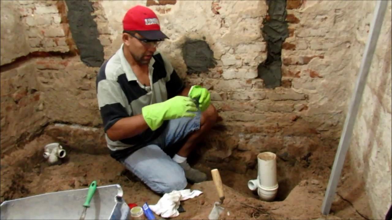Muito Instalação hidráulico esgoto de banheiro passo a passo - YouTube VP11