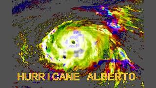 Hurricane Alberto May 2018