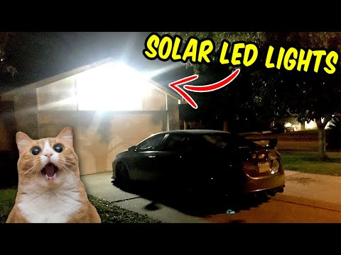 $40 Solar Outdoor Security lights for the House – Sunforce & Westinghouse