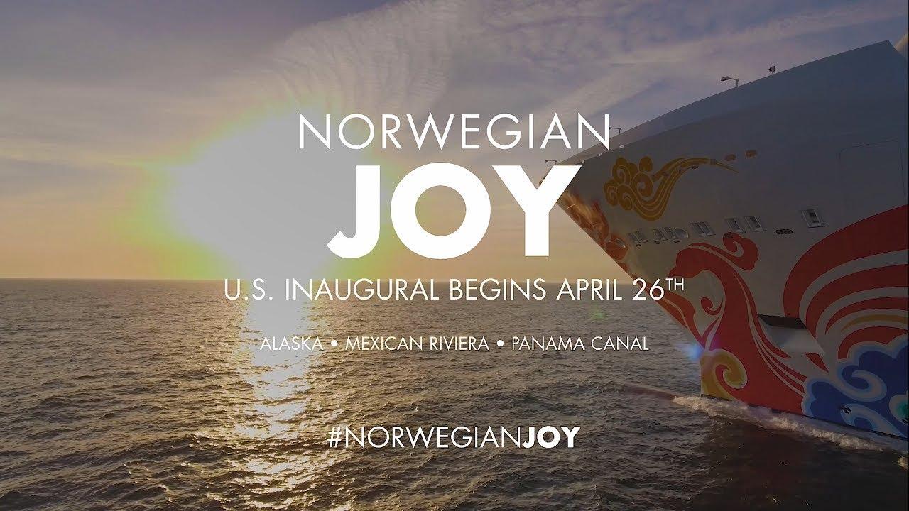 Norwegian Joy Cruise Ship - 2019 / 2020 - NCL