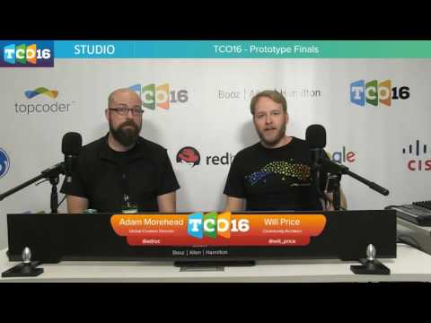 Topcoder Open 2016 - Prototype & Algorithm Group 1 and Psyho Interview