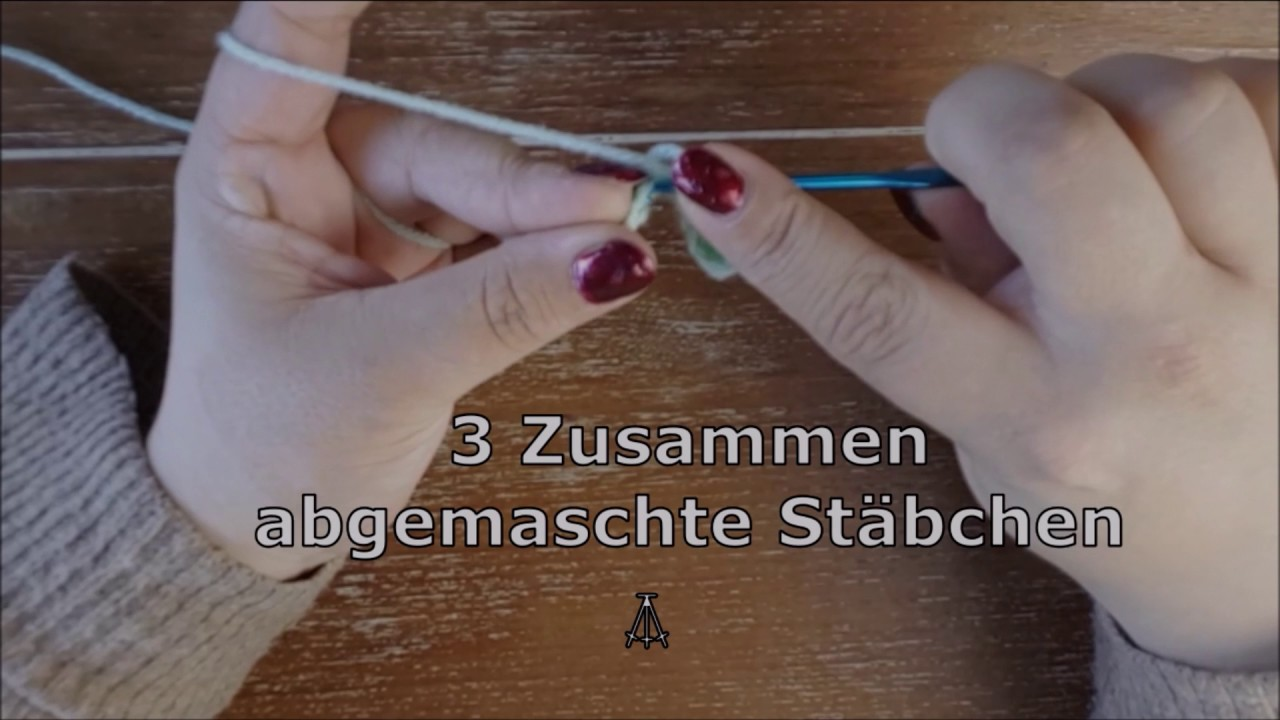 Grundmuster Häkelschrift Teil 1 Anleitung Youtube