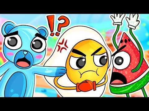 The EPIC FUNNY BATTLE in a Gummy's Life!