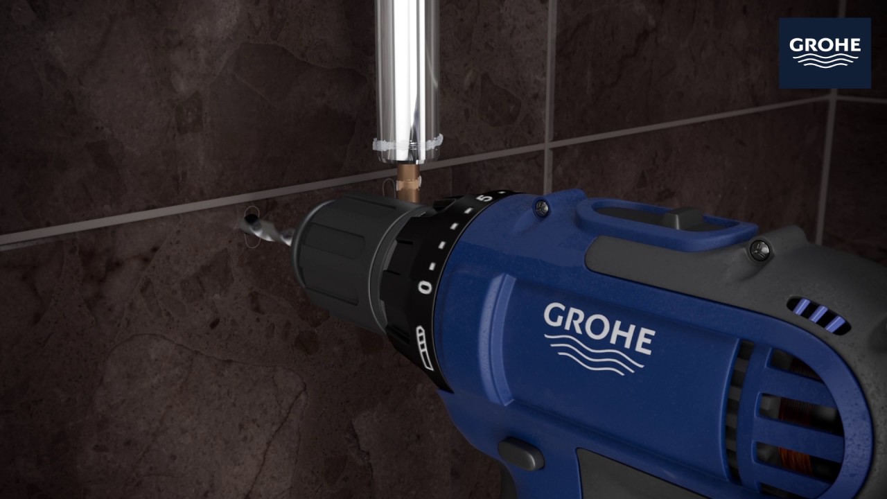 GROHE | Retro-Fit Shower System | Installation Video - YouTube