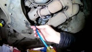 Замена масла в раздатке на Ниссан Мурано Z51 2010 года Nissan Murano