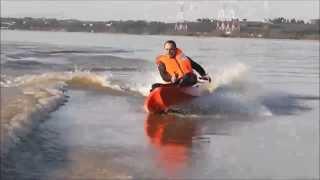 Session sportive en kayak motorisé (Kayasurf évasion)