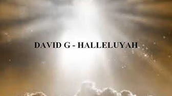 David G - Halleluyah (lyrics)