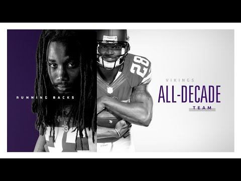 Minnesota Vikings All-Decade Team: Running Backs