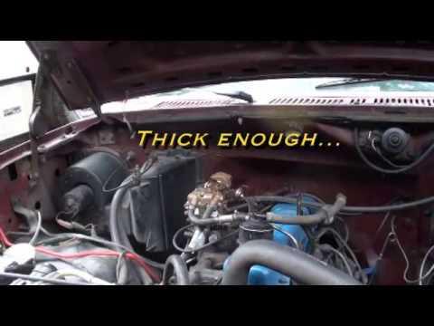 Vacuum leak hunt Dan\u0027s 1980 Ford F-150 300 Straight Six - YouTube