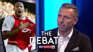 Who is the best foreign player in Premier League history? | The Debate | Bellamy and Pearce