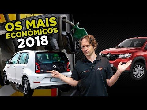 8 Carros mais Econmicos do Brasil em 2018 Mas quais s o seguros AutoVideos
