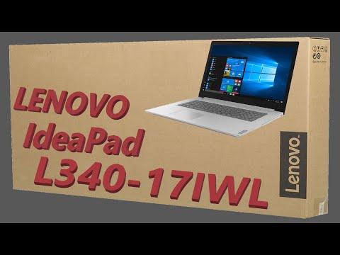 Ноутбук Lenovo IdeaPad L340-17IWL ( 81M0003WRK ) распаковка , комплектация , мини обзор