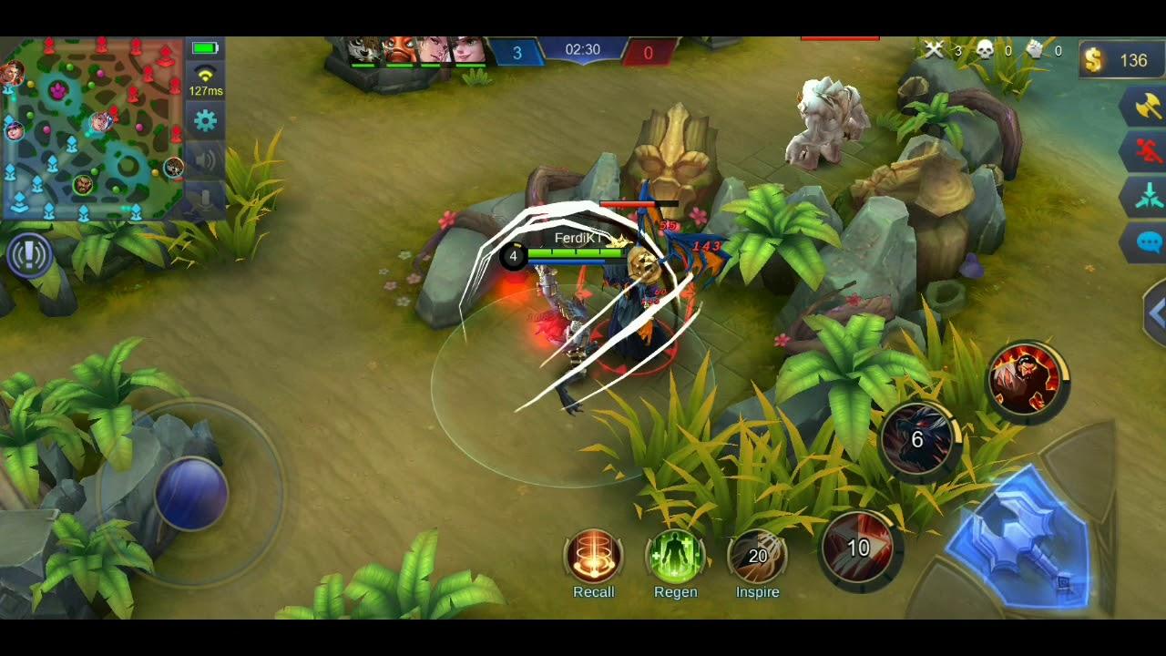 How To Use Hero Roger Mobile Legend First Battle Beginner