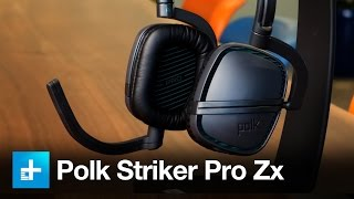 Polk Striker Pro Zx Gaming headset - Hands On Review
