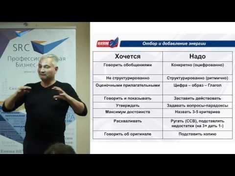 6 простых правил усиления речи - Виталий Ильинский