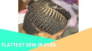 Braid Series:  Flattest Braiding Foundation for Sew in | The MACnificent WAY!