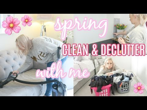 EXTREME SPRING CLEAN WITH ME 2019 | ENTIRE HOUSE | ULTIMATE CLEANING MOTIVATION | ELLIS SARA SMITH