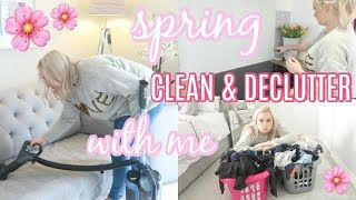 EXTREME SPRING CLEAN WITH ME 2019 | ENTIRE HOUSE | ULTIMATE CLEANING MOTIVATION | ELLIS SARA SMITH thumbnail