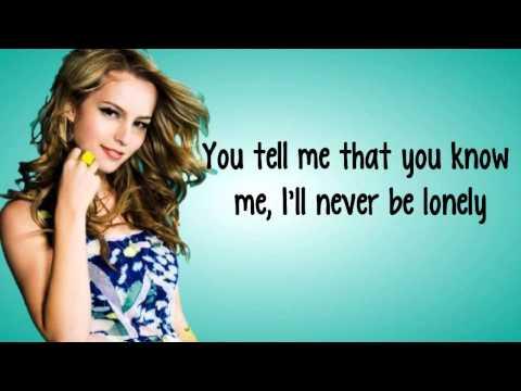 Hurricane  Bridgit Mendler Lyrics Video hd720