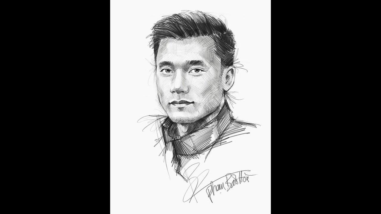 Bộ tranh vẽ đội tuyển U23 Việt Nam bằng bút chì gây sốt