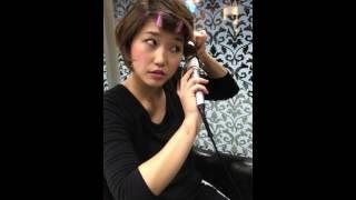 簡単なショートボブのアイロン仕上げ方 錦糸町の美容室 美容院 http://w...