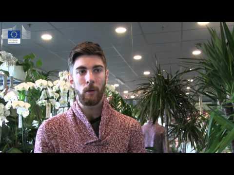 Kevin apprenti fleuriste en stage Erasmus + à Amsterdam