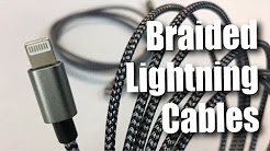3 Pack (3FT 6FT 10FT) Nylon Braided Apple Lightning USB Charging Cable Cord review