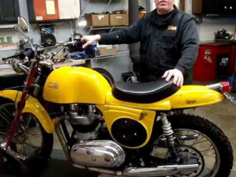 Rickman Metisse Frame w/1959 Matchless G12/G15 engine by Randy