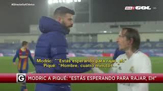 Modric a Piqué: