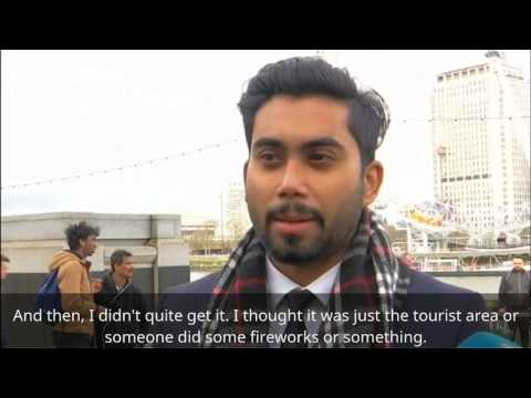 Westminster attack: A firsthand witness describes the incident