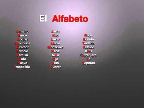 download video: alfabeto