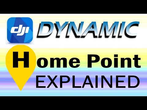 Dynamic Home Point - DJI Mavic Pro/Platinum Spark Phantom 4